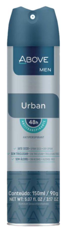 Desodorante Antitranspirante Above Urban 150mL/90g Baston
