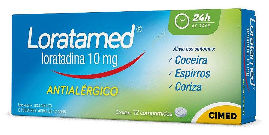 Loratamed 10 mg com 12 comprimidos Cimed