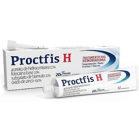 Proctfis H pomada com 20g União Química