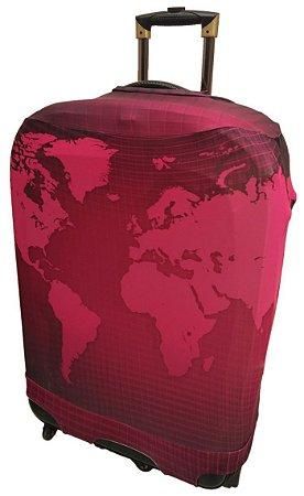 KEEKY Mapa Mundi Rosa