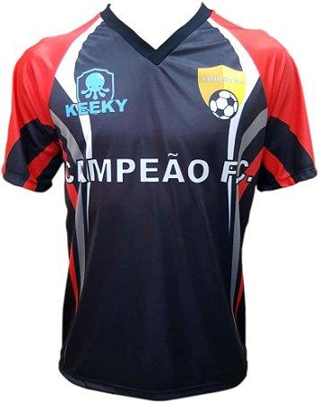 Camisa Futebol Raglan Personalizada - Mod.04