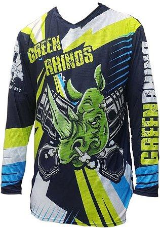 Camisa Trilha Motocross Personalizada - Mod02