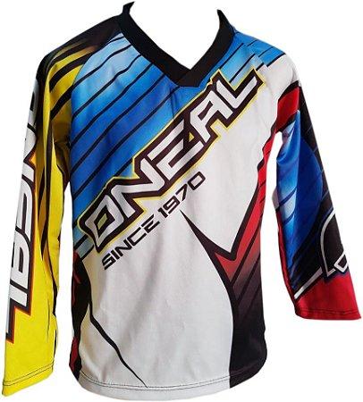 Camisa Trilha Motocross Personalizada - Infantil Mod.05
