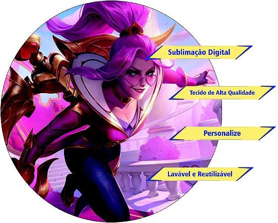 Painel Redondo Personalizado League of Legends