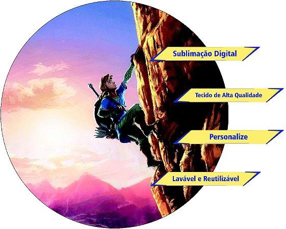 Painel Redondo Personalizado Legend of Zelda