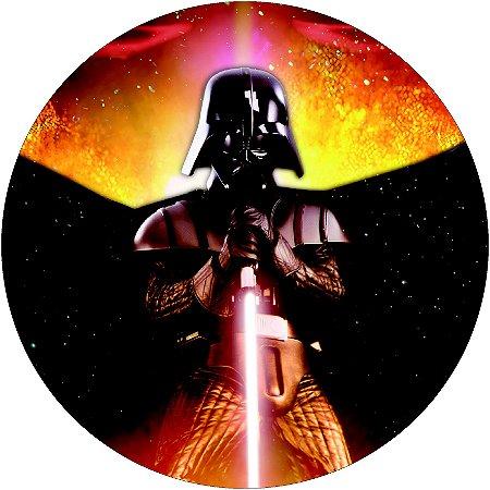 Painel Redondo Personalizado Star Wars