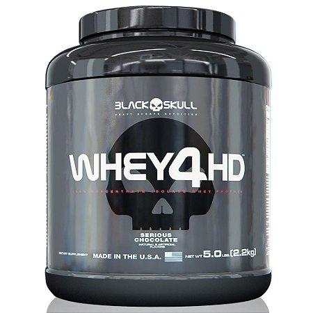 Whey 4 HD Black Skull