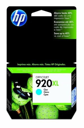 HP CD972AL 920XL CARTUCHO DE TINTA CIANO (7,5 ml)