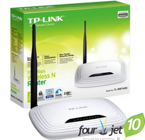 Roteador Wireless TP-Link 150Mbps - TL-WR740ND