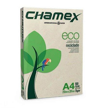 Papel Chamex Eco Reciclado A4- 75g - 500 FLS