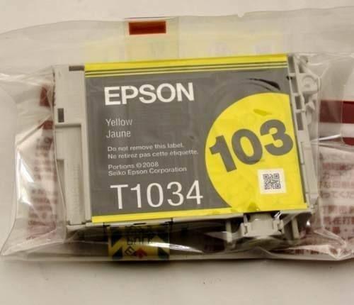 Cartucho de Tinta Epson Original |103 Amarelo | T1034