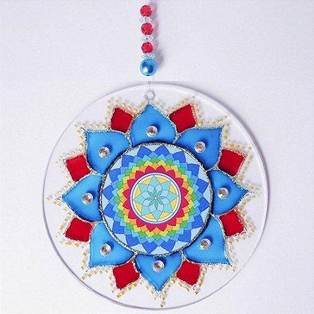 Ativador Energético Feng Shui (Mandala da Criatividade) - 10cm