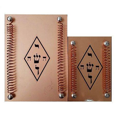 Telerradiador Radiestesia (com Ioshua) - Aparelho Radiônico Cobre - Tam G