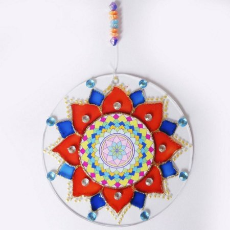Ativador Energético Feng Shui (Mandala da Alegria) - 14cm
