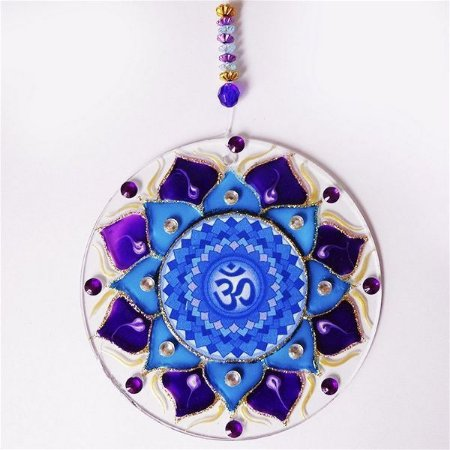 Ativador Energético Feng Shui (Mandala da Espiritualidade) - 14cm