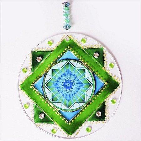 Ativador Energético Feng Shui (Mandala dos Sonhos) - 10cm