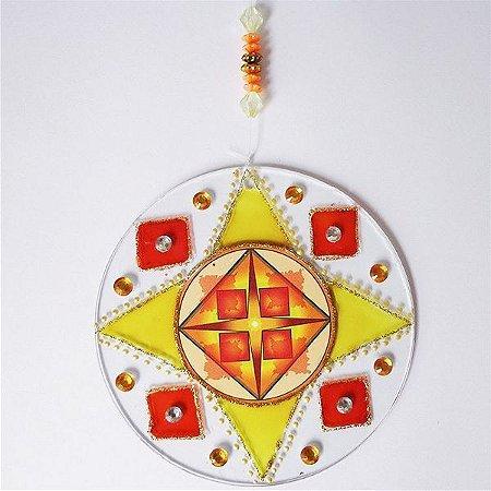 Ativador Energético Feng Shui (Mandala do Dinheiro) - 10cm