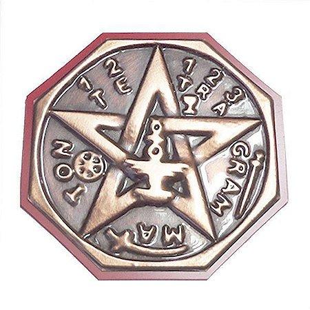 Quadro Tetragrammaton  Cobre Pequeno