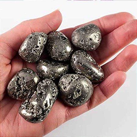 Pedra Pirita Rolada (Pedra do dinheiro) Pacote 150g