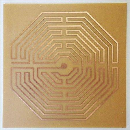 Labirinto De Amiens G - Gráfico em Cobre