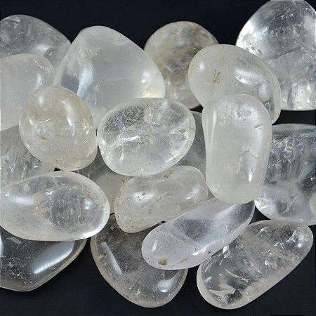 Quartzo Cristal Rolado 100g