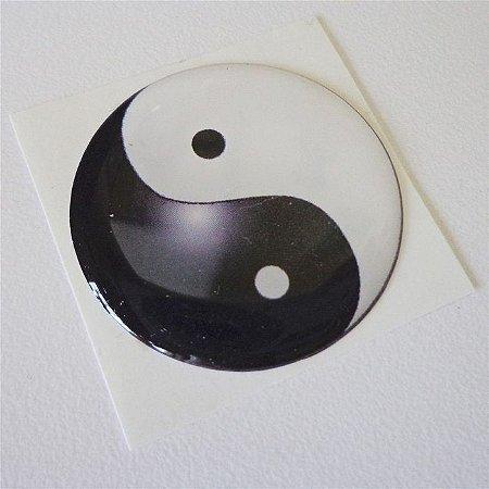 Adesivo Automotivo Mandala Yin Yang