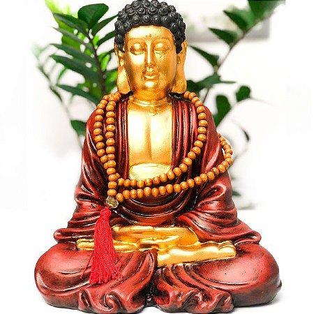 Buda Gigante da Riqueza com Japamala