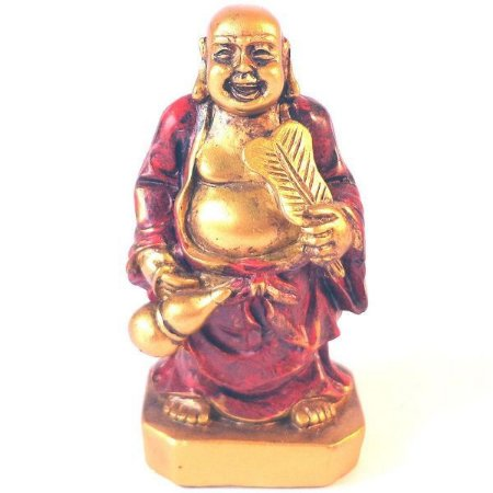 Mini Buda Viajante da Boa Sorte