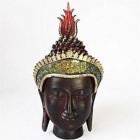 Cabeça de Buda Sidarta Iluminado