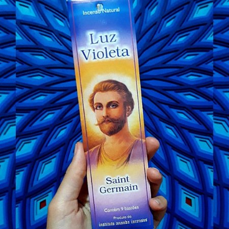 Incenso Luz Violeta Saint Germain Ananda