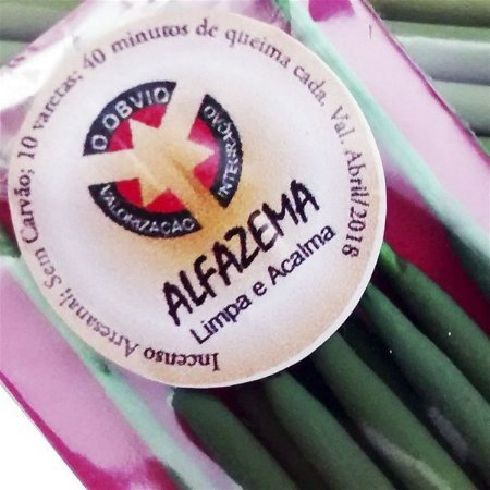 Incenso Natural Alfazema - Limpa e Acalma