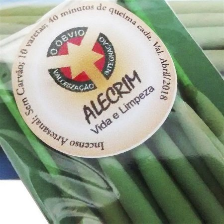 Incenso Natural Alecrim - Antidepressivo