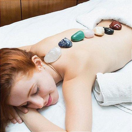 Kit Pedras Para Massagem