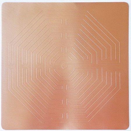 Placa Labirinto D´Amiens – Cobre Maciço