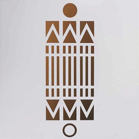 Placa Radiônica Luxor 6x15 - Em PVC