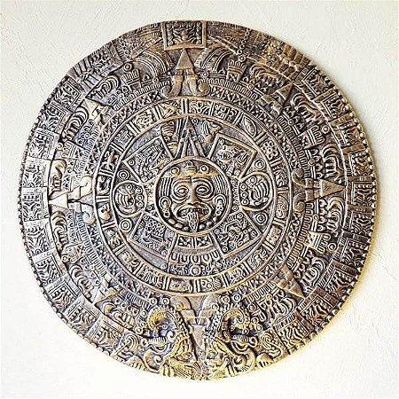 Quadro Calendário Asteca