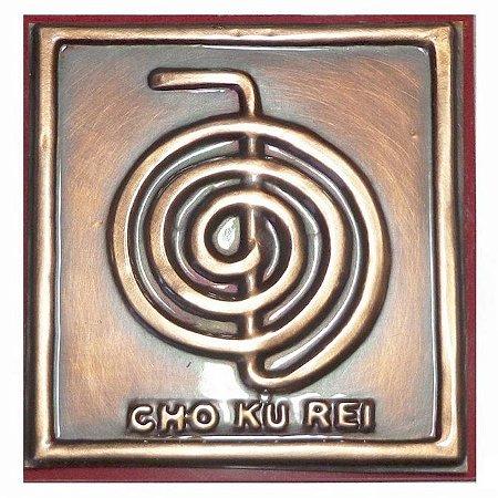Quadro Cho Ku Rei de Cobre