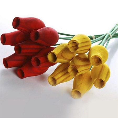 Botão Rosa Aromatizadora Vários aromas