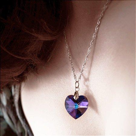 Coração de swarovski boreal PQ - Produtos Esotéricos - Dhonella loja ... 7a937a8b34