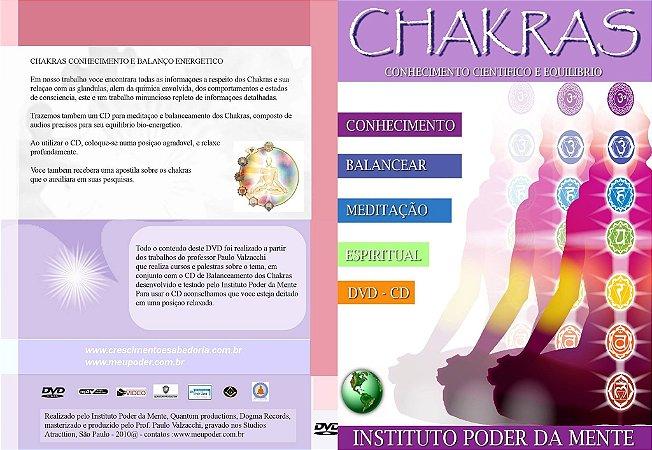 DVD CHAKRAS + CD