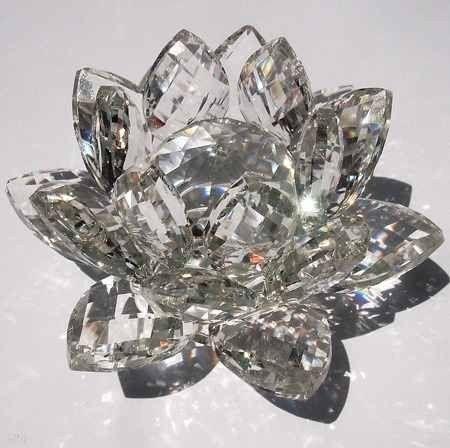 Flor de Lótus de Cristal