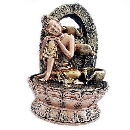 Fonte Decorativa de Água Buda Sidarta