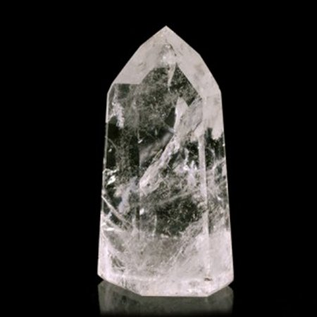 Obelisco Quartzo Cristal - Três Tamanhos