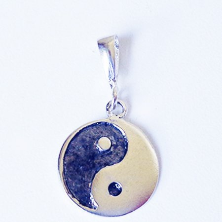 Pingente Yin Yang em Prata
