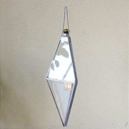 Prisma D'Agua Modelo Balão com Juntas Metálicas