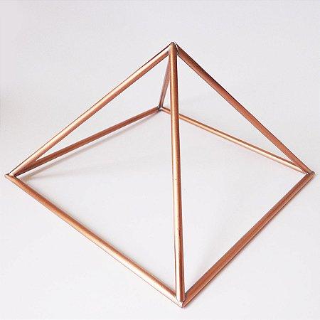 Pirâmide de Cobre Hastes Largas 10cm