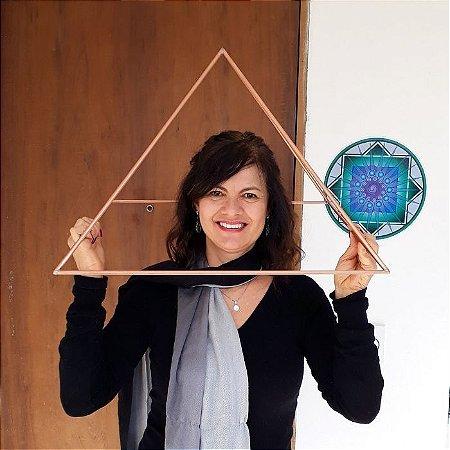 Pirâmide de Cobre Hastes Largas 50cm