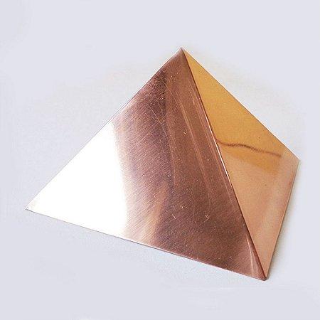 Pirâmide de Cobre Polida 15cm