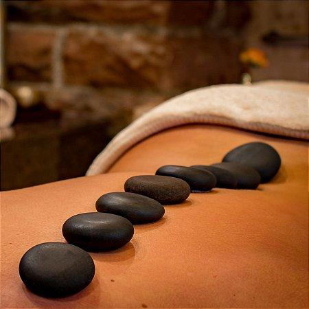 Kit Pedras Vulcânicas para Massagem