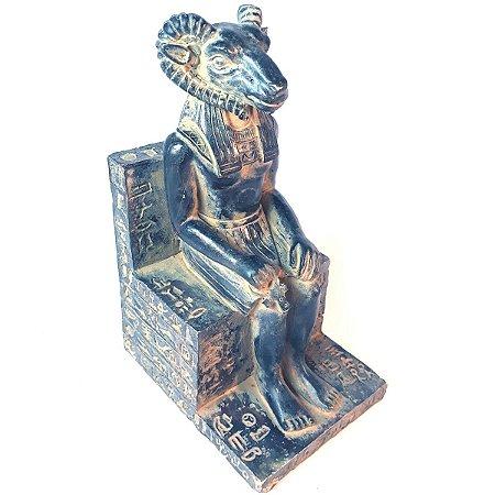 Estátua Carneiro Khnum